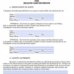 Alaska Durable Medical Power of Attorney Form
