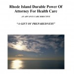 Rhode Island Medical Power of Attorney Form