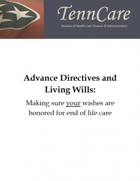 Tennessee Living Will Form (Advance Directive)