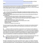 Indiana Durable Medical Power of Attorney Form