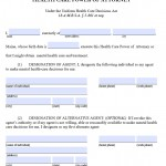 Maine Durable Medical Power of Attorney Form